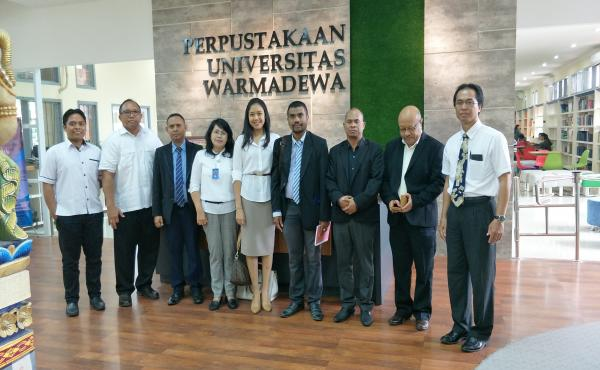 Kunjungan dari Pejabat Institute Of Business Timor Leste